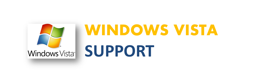 Windows Vista Support